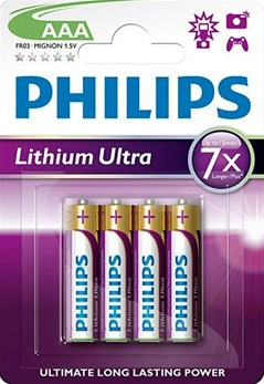 philips aaa lithium ultra potlood