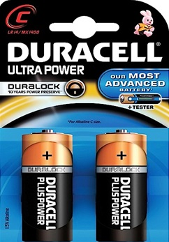 duracell ultra power C LR14 MX1400