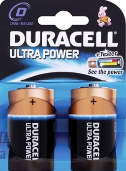 duracell ultra power d LR20 MX1300