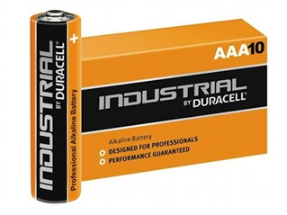 duracell industrial aaa lr03