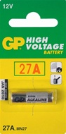2 stuks GP High Voltage alkaline batterij type 27 A en MN 27