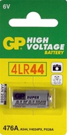 2 stuks GP High Voltage alkaline batterij type 476 A, 4 LR 44, A 544, V 4034 PX en PX 28 A