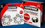 Rayovac 675 Cochlear Advanced CI batterijen