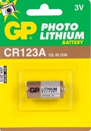 GP lithium foto batterij type CR 123 A