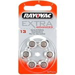 Rayovac 13 Extra Advanced hoortoestel batterijen type 13 oranje